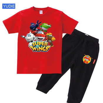 boys Clothes sets 2020 Summer Children T Shirt+Pant 2 Pcs Girls Toddler baby Boy Sets Cool girl Tops T-shirt+Pants Outfits kids - discount item  30% OFF Children's Clothing