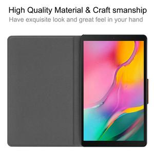 Image 5 - Чехол для Samsung Galaxy Tab A 10,1 дюймов планшет 2019 T510/T515 PU кожаный складной чехол книжка с несколькими углами обзора