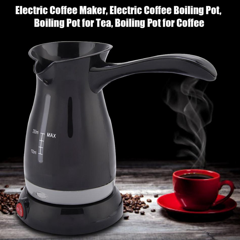 250Ml Electric Coffee Maker Tea Espresso Mini Coffee Machine Portable Coffee Pot Food Grade Coffee Kettle For Gift Sonifer EU Pl