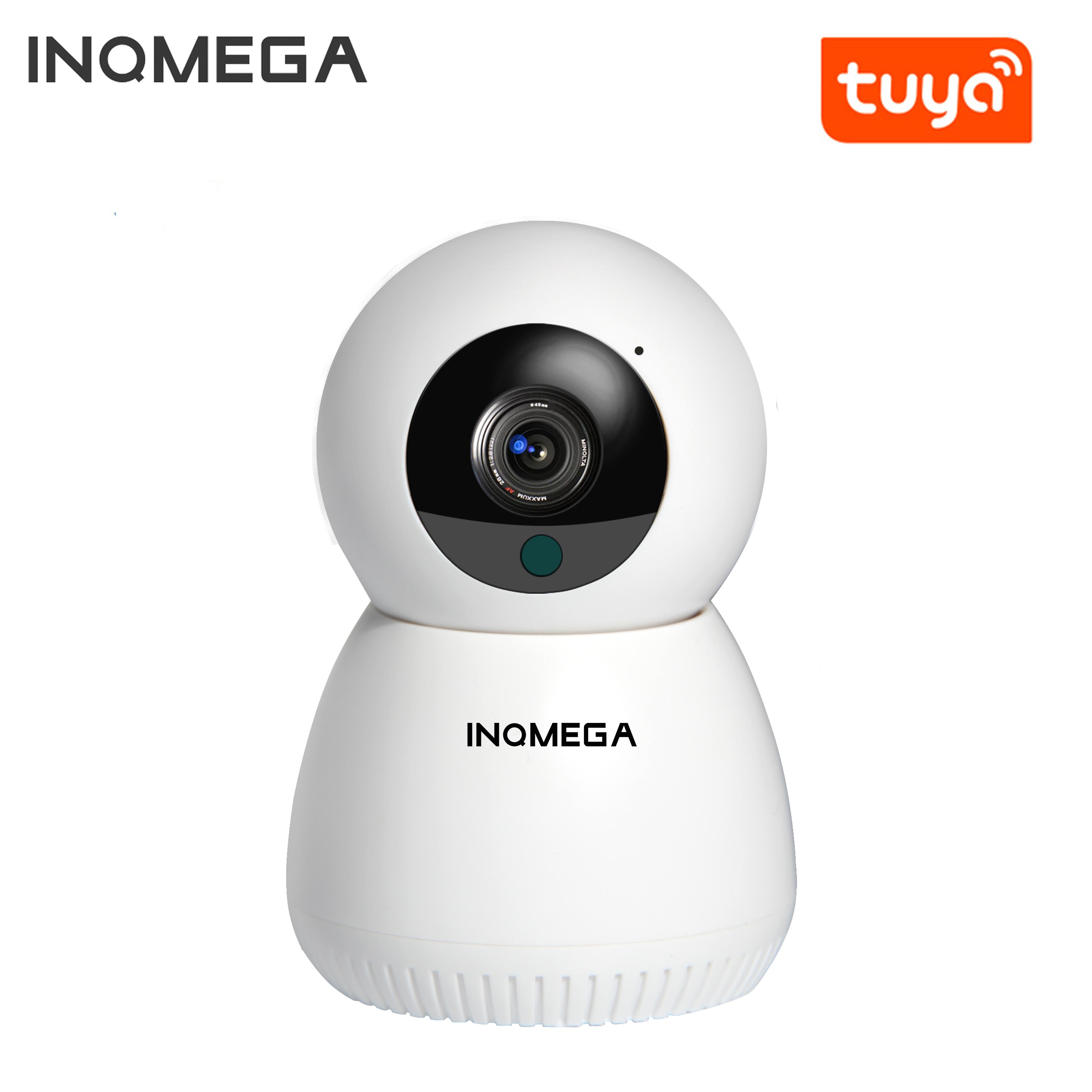 INQMEGA 1080P 720P IP Camera WiFi Wireless Mini Smart Home Security CCTV Camera Two-way Audio Night Vision Baby Monitor APP TUYA