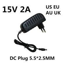 Adaptateur électrique pour Marshall Stockwell, haut-parleur Bluetooth Portable, 15 V, 2a, 2000ma, courant continu