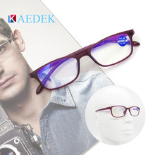Unisex Reading Glasses Women Male Square PC Frame Clear Glass Lens Fashion design With Diopter+1.0 +1.5 +2.0 +2.5 +3.0