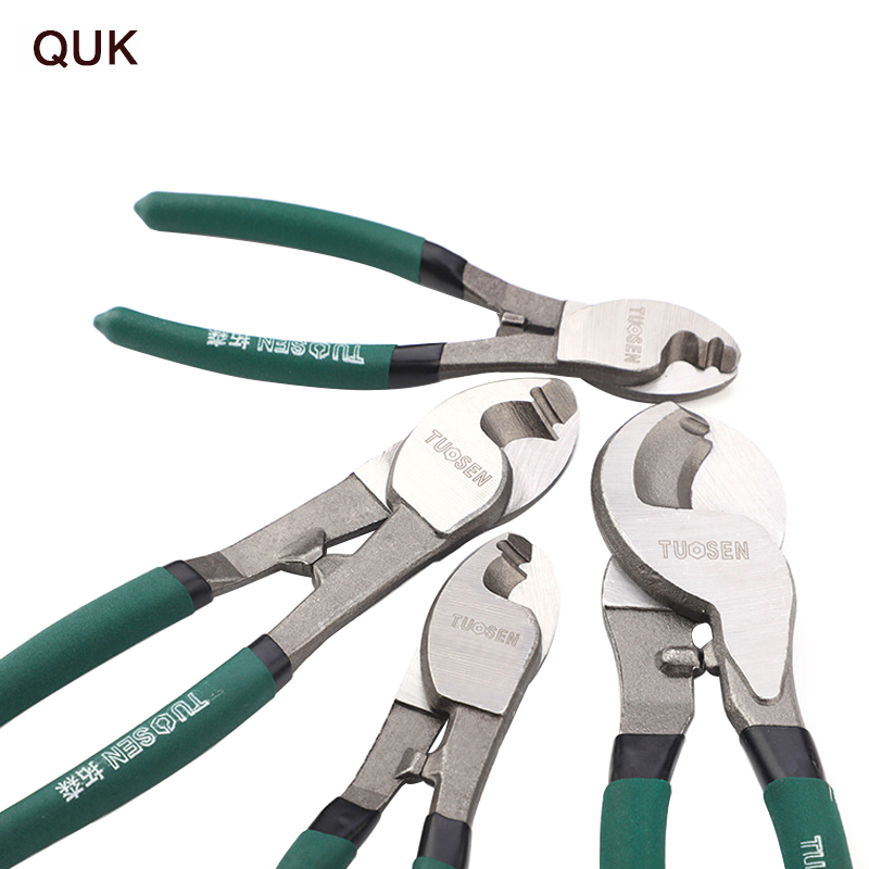 QUK Pliers Wire Stripper Cable Cutter Multitool Stripping Cutting Plier Set Side Snips Industrial-grade Electricians Hand Tools 1