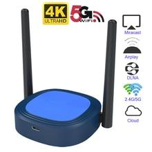 Mirascreen X13 Miracast 5G 4K Wireless DLNA AirPlay mirror HDMI TV Receiver Stick Wifi Disp