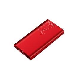 Ultrathin Power Bank 20000mah External Portable Battery Powerbank Bank Power Batteri Charger Portabl Waterproof for Xiaomi Ip XR цена и фото