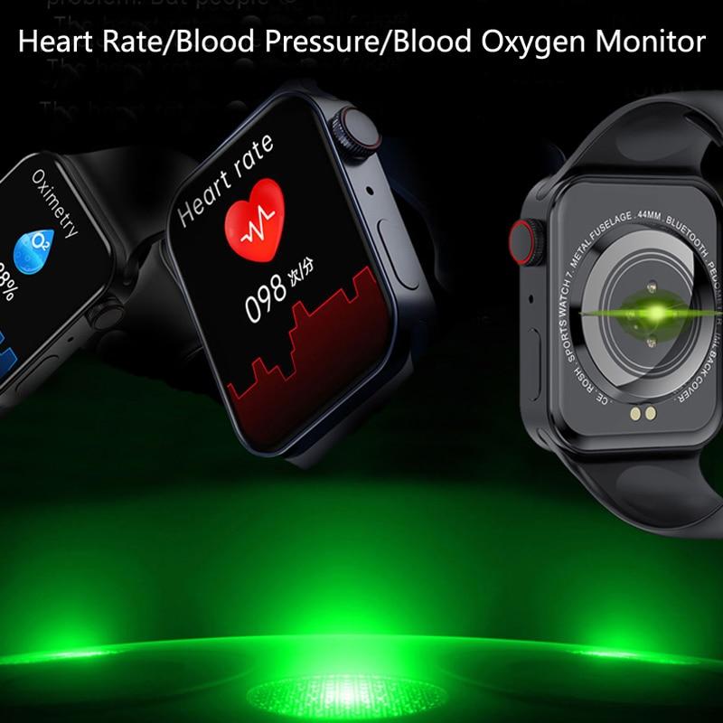 CHYCET Original IWO Series 7 Smart Watch Men 1.82 Inch HD Screen Dial call Smartwatch Women Heart Rate Monitor Watch PK HW22 W46 4