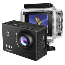 1080P Full HD Action Camera 12MP Sport Camera 2.0'' LCD 170D 30m Go Waterproof pro Sports DV Mini Helmet Video Recording Camera