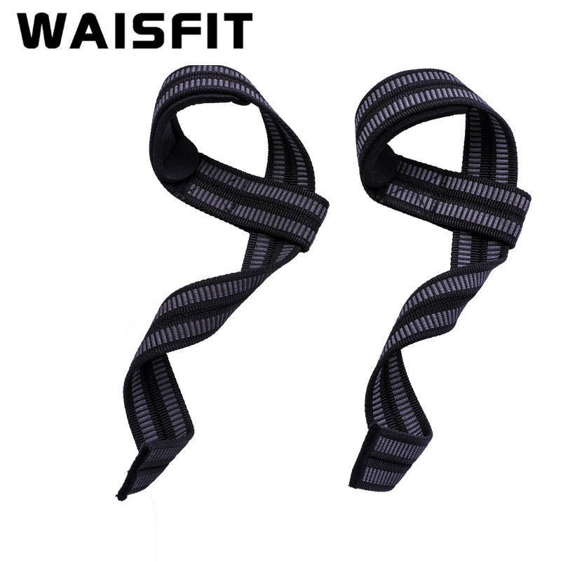 Booster Stripe Deadlift With Men's Wrist Protector Fitness Gloves Weightlifting Apparatus Sports Chin-up Double-Sided Anti-slip