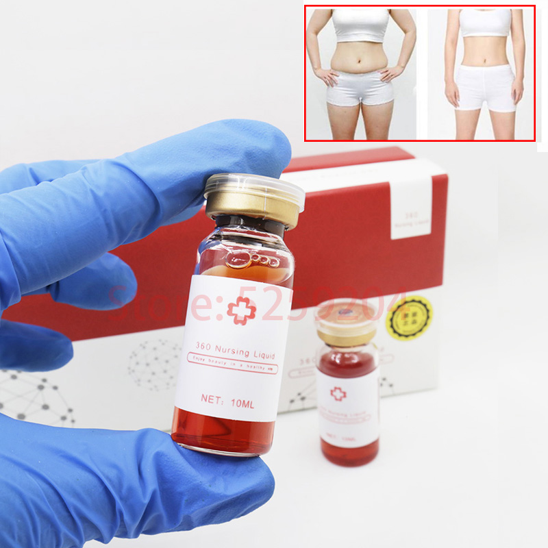 The RED Ampoule Solution Korea Lipo Lab 10ml Lipolytic Solution Ampoule For Body Slimming/lose Weight With Beauty Hyaluronic Pen