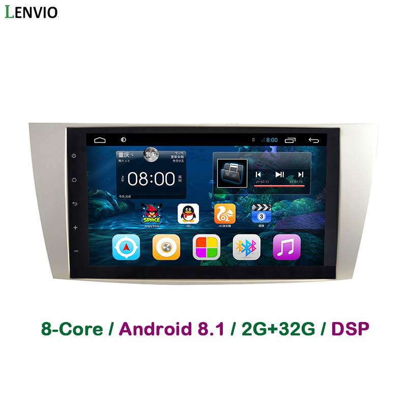 Lenvio DSP RAM 2GB+32GB Octa Core 2 Din Android 8.1 Car DVD GPS multimedia player For Toyota Camry 2006 2007 2008 2009 2010 2011