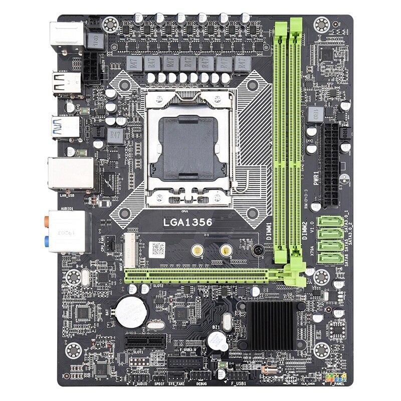 HOT X79A Lga 1356 płyta główna Usb3.0 wsparcie serwera Reg Ecc pamięci i Lga1356 Xeon E5 procesor na pulpicie serwera Ddr3 sieć europejskich centrów konsumenckich R w Płyty główne od Komputer i biuro na