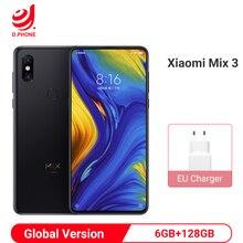 """Globale Version Xiao mi mi mi x 3 Snapdragon 845 Octa Core 24 + 2 megapixel 6GB RAM 128GB ROM 6,39 """"Full Screen Qi Drahtlose Aufladen Telefon"""