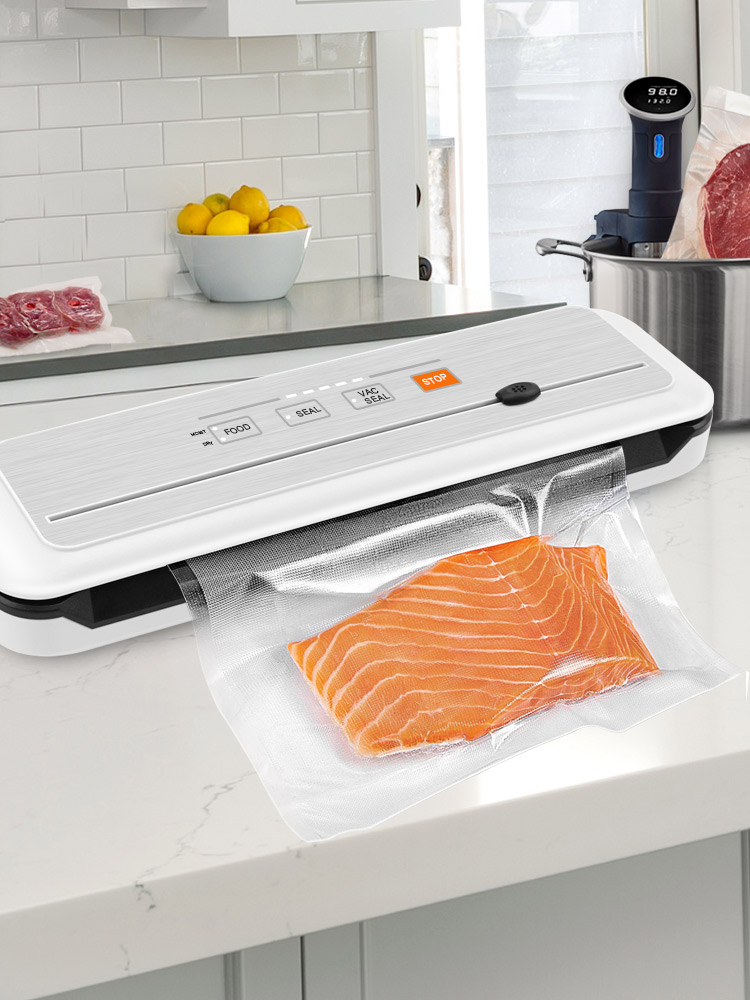 Vacuum-Packing-Machine Vacuum-Sealer Food-Packer Sous Vide LAIMENG S273 Gs for New