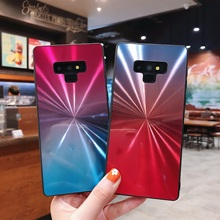 Luxury Candy colors Back case for Samsung Galaxy S8 S9 S10 A10 A20 A30 A40 A50 A60 A70 A8 A6 Gradient Rainbow Laser Case Cover