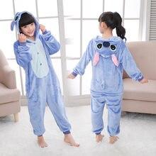 Unicórnio pijamas crianças ponto pijamas onesie crianças meninos meninas animal pijamas anime cosplay traje macacão macacão