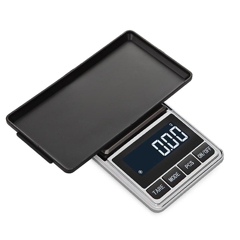 Цифровые карманные весы точные ювелирные весы грамм вес для кухонных ювелирных изделий баланс веса-3