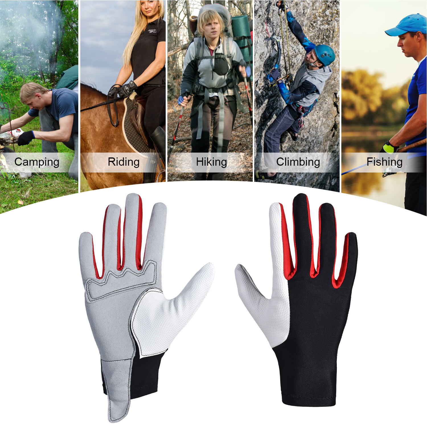 Professional Horse Riding Gloves For Horse Riding Men Women Equestrian Horseback Riding Gloves