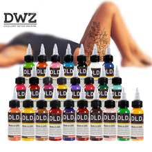 Pigment Tattoo-Ink-Set Potion Apply-Tattoo Resin Pure-Plant 25-Color 15ml Easy