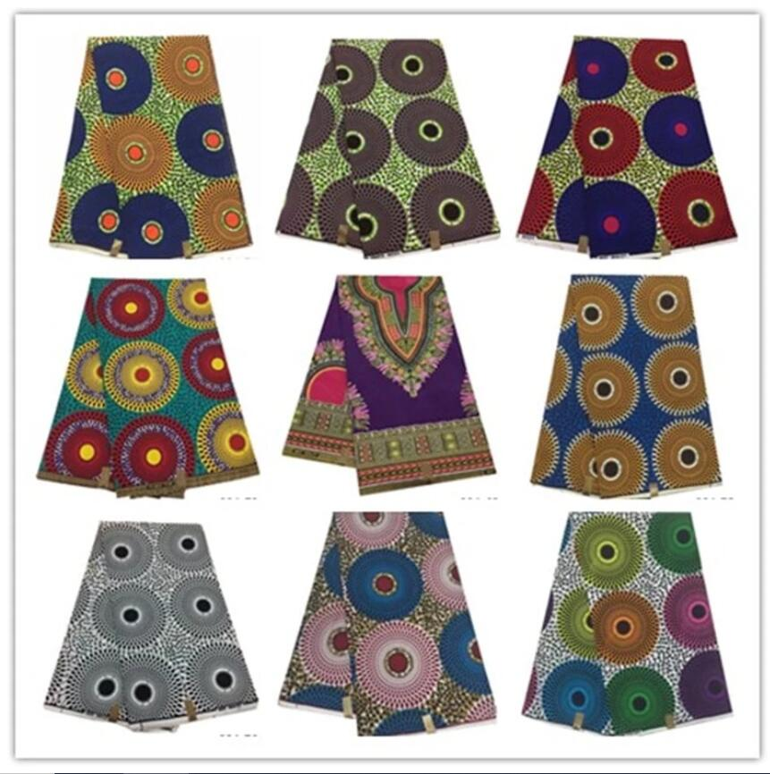 100% cotton fabric new design african wax fabric for wedding dress ankara african wax print fabric Evening Party Prom Gowns