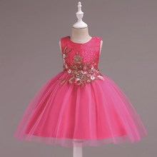 kids girl dress girls wedding dress baby dress tutu flower girl dresses wedding tutu dress Wedding presiding Birthday party все цены