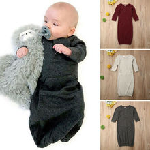 Хлопковое Пеленальное Одеяло для новорожденных, спальный мешок, спальное одеяло, 0-6 м