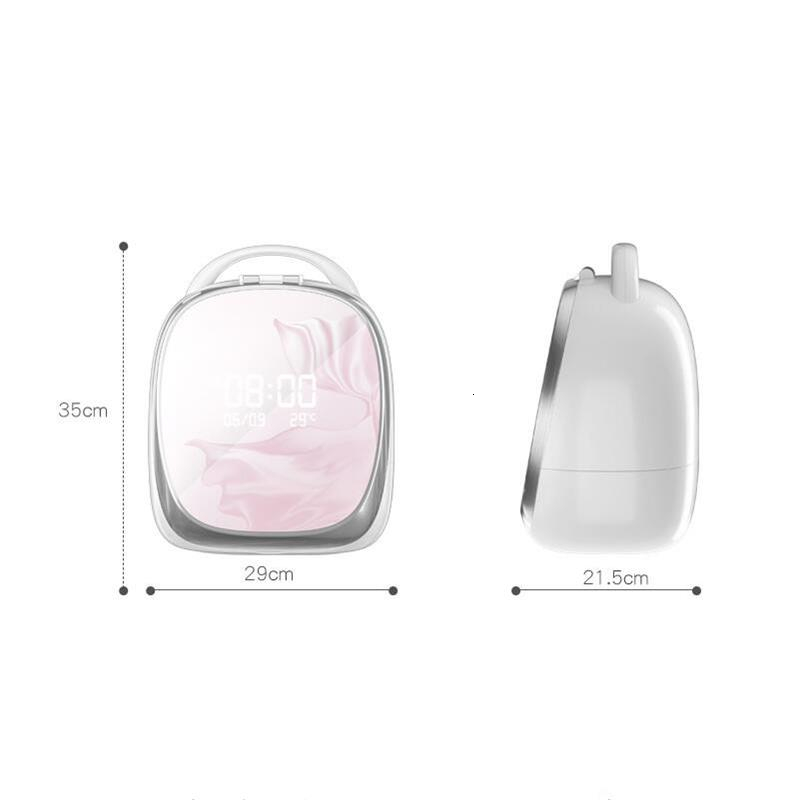 Intelligente Ad Alta end Scatola di Immagazzinaggio Cosmetici Nordic LED Specchio Specchio Per Il Trucco Dell'organizzatore del Cassetto di Casa Rossetto Supporto di Spazzola Cura Della Pelle Gioielli cremagliera - 6