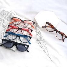 Reading Glasses Women Cat Eye Frame Readers Stylish Reading Sunglasses with Flexible Spring Hinge +1.0+4.0
