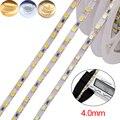 12 В 5 м Светодиодная лента SMD 2835 120LED s/M гибкая световая лента 4 мм PCB подсветка высокая яркость Светодиодная лента 3 цвета