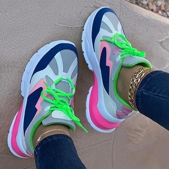 Chunky Sneakers Lightweight Mesh Shoes