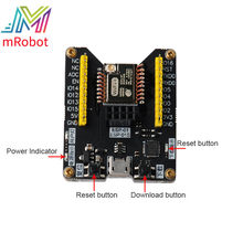 Mini Ultra-Small Size From ESP8285 Serial Wireless WiFi Transmission Module ESP-M3 Fully Compatible WiFi Module(China)