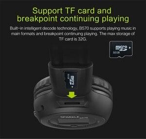 Image 3 - ZEALOT B570 Drahtlose Kopfhörer fm Radio Über Ohr Bluetooth Stereo Kopfhörer Headset für Computer Telefon, Unterstützung tf karte, AUX
