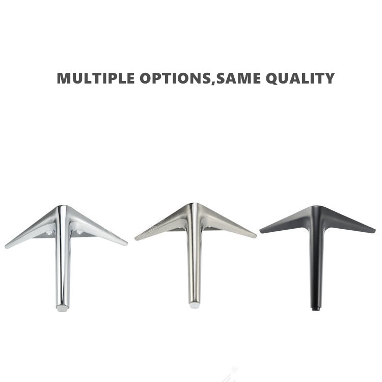 4pcs Furniture Accessories Metal Legs Cabinet Sofa Foot Screw Table Legs 150mm Table Base Hardware Furniture Bed Riser image