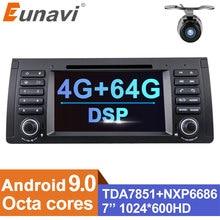 Eunavi Android 9 Car DVD For BMW E53 E39 X5 Multimedia Radio