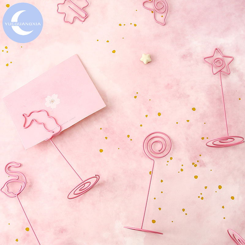 8pcs Little Twin Stars Note Office Paper Clip School Supplies Study Article