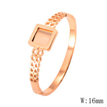 V-185 Hot New Fashion Adjustable Crystal Double Heart Bow Cuff Opening Bracelet Women Jewelry Gift(China)