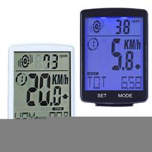 2 8 Inch Code Table Bicycle Waterproof Code Table Bicycle Stopwatch Step Frequency Heart Rate 3 In 1 Multi-Function Code Table cheap Other black white