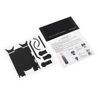 Pegatina de color sólido de moda, pegatinas de PVC a prueba de agua para DJI OSMO Pocket, película de textura de Metal cepillado
