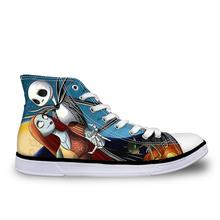 Custom Woman Casual Canvas Shoes High Top Shoes