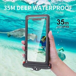 Image 2 - IPX8 Duiken Waterdichte Case Voor Iphone Se 2020 11 Pro Max 10 X Xs Xr 7 8 6S Plus onderwater Telefoon Case Voor Samsung S20 Note 10 +