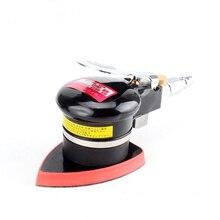 Small Sandpaper Machine Pneumatic Sanding Machine Wind Polisher Sheet Metal Grinder Swing Pneumatic Eccentric Polisher