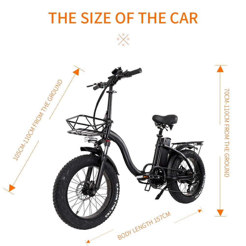 CMACEWHEEL Y 20 Zoll Variable Geschwindigkeit Elektrische Bike 48 V/18 Ah 1000 W Mit Starke Leistung Übersee Lager lieferung EU Freies Shi
