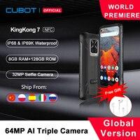 Cubot KingKong 7 IP68 & IP69K Waterproof Rugged Smartphone 6.36 1