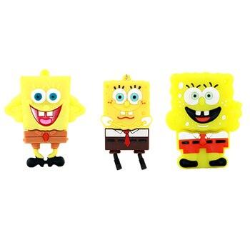 New Spongebob Usb Flash Drive Real Capacity Pendrive 128GB 256GB 512GB Disk 2.0 Pen Memoria Stick