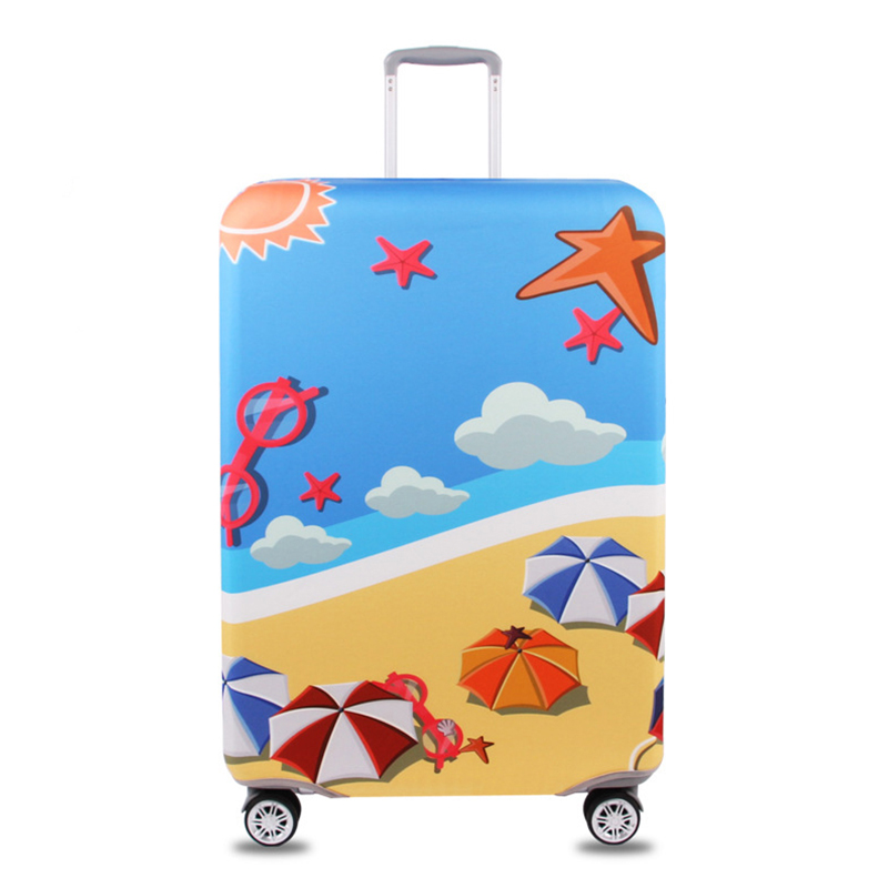 JULY'DOSAC  Travel Protective Cover Suitcase Case Accessorie Luggage Elastic Luggage Cover Apply To 18-32inch Suitcase