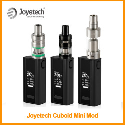 [RU] paquet Simple Original Joyetech cuboïde Mini batterie 80W intégré 2400mAh cuboïde Mini VT/TC Mode Vape Mod E-Cigarette