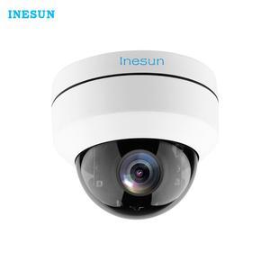 IP-камера Inesun, 5 Мп, POE, PTZ, IP66, водонепроницаемая