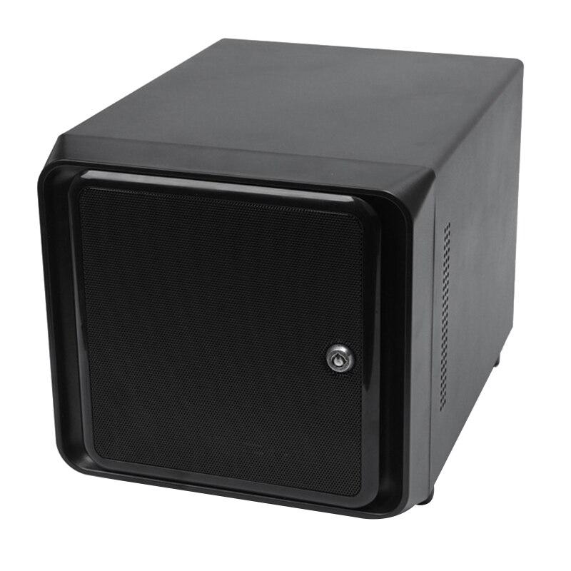 Мини-ITX Горячая замена 4 Bays NAS Облачное хранилище IPFS сервер
