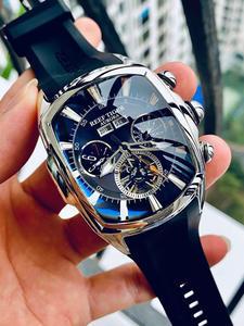Top-Brand Sport Watches Big-Watch Mechanical-Tourbillon RGA3069 Tiger/rt Luxury Dial