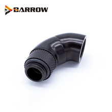 BARROW G1/4'' Thread 90 Degree Rotary Fitting Adapter Rotating 90 degrees water cooling Metal Adaptors TSWT902-V1