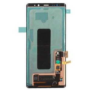 Image 3 - ORIGINAL 6.3 SUPER AMOLEDจอLCDกรอบสำหรับSAMSUNG GALAXYหมายเหตุ8 Note8 N950 N950FจอแสดงผลTouch Screen Digitizer assembly